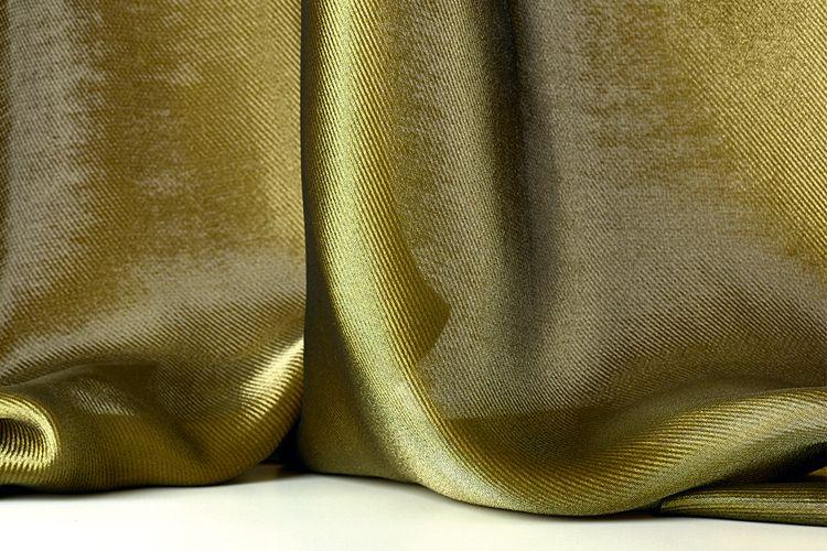Двусторонняя переливающаяся ткань LUDWIG иособо плотный моющийся текстиль Elix, Dedar